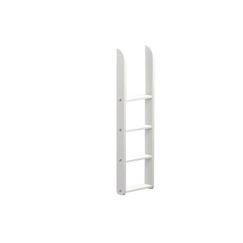 Low Bunk Straight Ladder : White