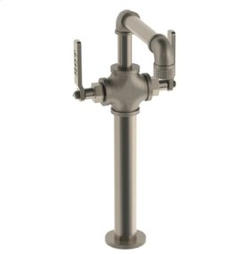 """Single Hole Lavatory Faucet W/10"""" Extension"""
