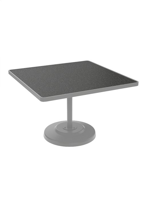 "Raduno 42"" Square KD HPL Pedestal Dining Table"