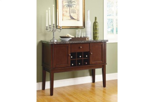 Counter Height Table, Marble Top