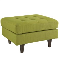 Empress Upholstered Ottoman in Wheatgrass Product Image