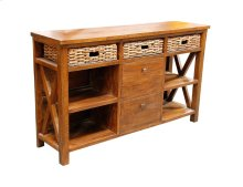 Buffet, Available in Grey Wash or Royal Oak Finish.