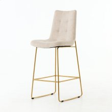 Bar Stool Size Savile Flax Cover Camile Bar + Counter Stool