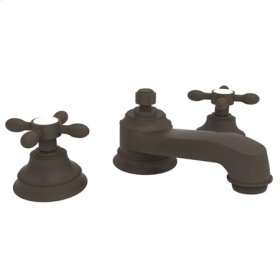 Oil-Rubbed-Bronze Widespread Lavatory Faucet