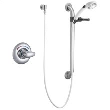 Chrome Universal Shower Trim