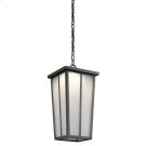 Amber Valley Collection Amber Valley LED Outdoor Pendant in BKT Product Image