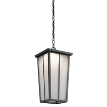 Amber Valley Collection Amber Valley LED Outdoor Pendant in BKT