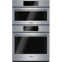 Benchmark® built-in double oven 30'' Stainless steel HSLP751UC