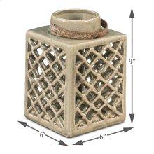Small Ceramic Lantern