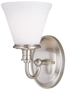 Wall Lamp, Ps W/frost Glass Shade, Type A 60w