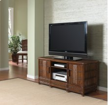 "Tahiti Plasma TV Holder up to 55"" in Antique Finish"