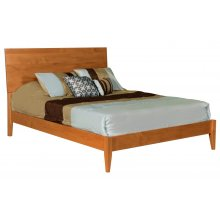 Queen Solid Alder Platform Bed