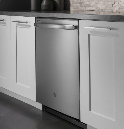 GE® Dishwasher with Hidden Controls