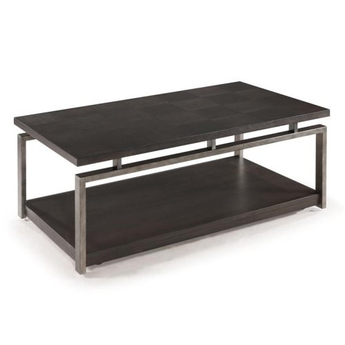 Rectangular Cocktail Table (w/Casters)