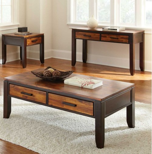 """Abaco End Table, 24""""x24""""x24"""""""