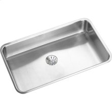 "Elkay Lustertone Classic Stainless Steel, 30-1/2"" x 18-1/2"" x 5-3/8"", Single Bowl Undermount ADA Sink w/Perfect Drain"