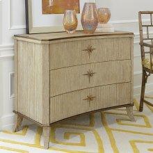 Klismos 3-Drawer Cabinet-Sandblasted Oak