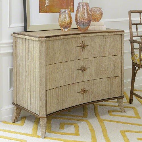 Klismos 3 Drawer Cabinet-Sandblasted Oak