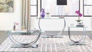 U Sofa Table