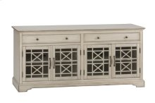 "Craftsman Antique Cream 70"" TV Console"