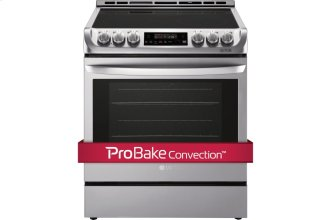 6.3 Cu. Ft. Electric Slide-in Range With Probake Convection and Easyclean(R)
