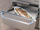 "Heritage 24"" Indoor/Outdoor Warming Drawer, Silver Stainless Steel Product Image"