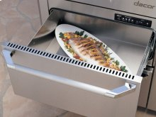 "Heritage 24"" Indoor/Outdoor Warming Drawer, Silver Stainless Steel"