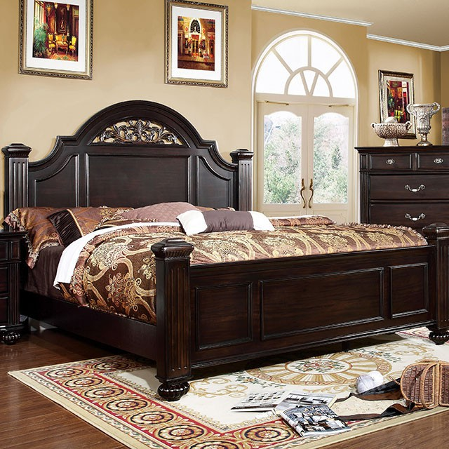Beau King Size Syracuse Bed