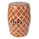 Finley Stool,Orange Product Image