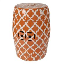 Finley Stool - Orange
