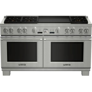 Thermador 60-Inch Pro Grand® Commercial Depth Dual Fuel Range