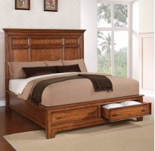 River Valley Queen Panel Bed with Storage