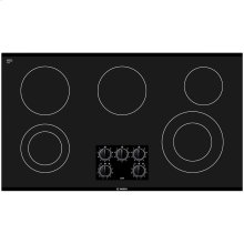 300 Series 36 Black Electric Cooktop