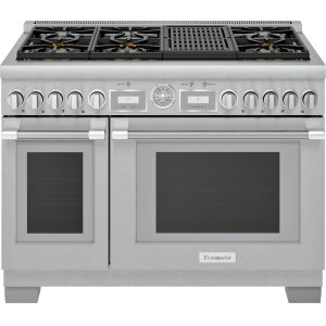 Thermador48-Inch Pro Grand® Commercial Depth Gas Range