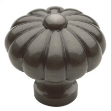 Antique Nickel Melon Knob