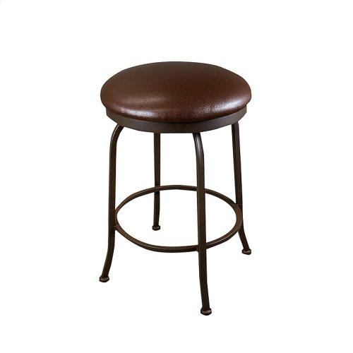 Boston B515H26BS Backless Swivel Bar Stool