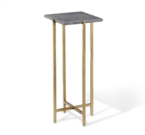 Zahara Square Drink Table - Grey