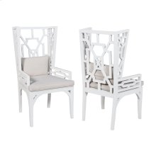 Set of 2  Wing Chair