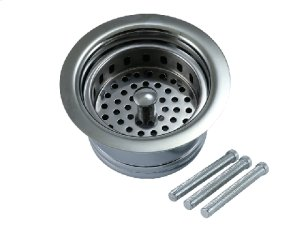 Traditional - Complete Stopper & Strainer Unit Waste Disposer Trim - Extended Flange Product Image