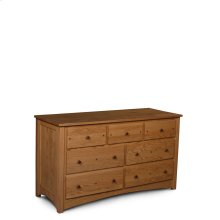 Royal Mission 7-Drawer Dresser, Large