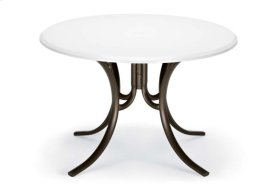 """48"""" Round Table Top Only w/ hole"""