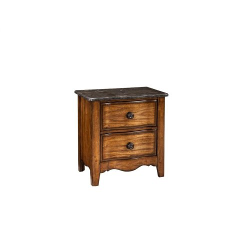 Luciano 2 Drawer Nightstand