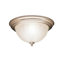 2 Light Flush Mount Ceiling Light NI