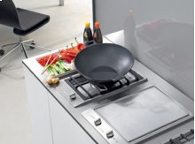 Customized cooking surface
