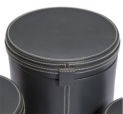 Fabrice Round Boxes - Slate