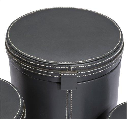 Fabrice Round Boxes - Slate