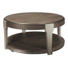 Brenzington Round Cocktail Table