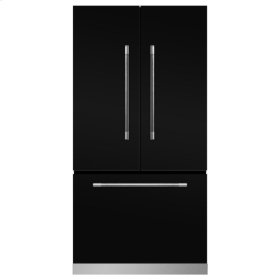 Gloss Black Mercury French Door Counter Depth Refrigerator