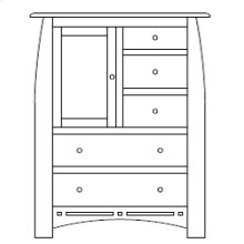 Hayworth Door Chest