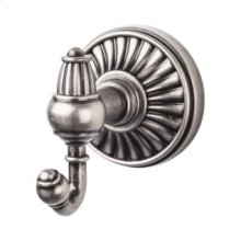 Tuscany Bath Double Hook - Pewter Antique